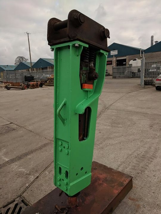 Refurbished hydraulic hammers in Northern Ireland